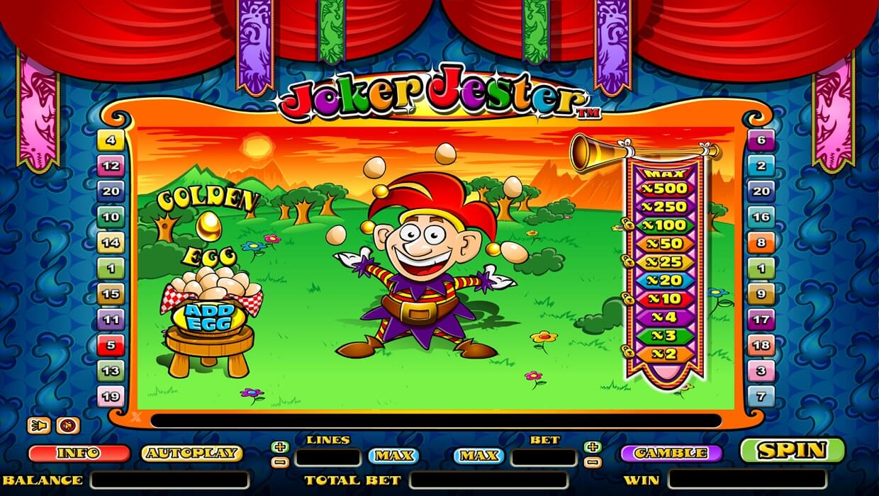 Joker Jester Slot Review & Guide for Players Online